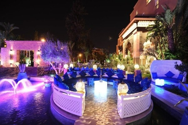 H tel sofitel marrakech lounge and spa 5 maroc for Chicha salon