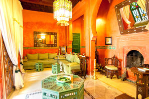 Maroc-Marrakech, Riad Ravel
