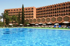 Maroc-Marrakech, Hôtel Atlas Asni