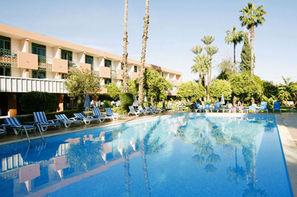 Maroc-Marrakech, Hôtel Chems sup