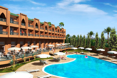 H tel h tel ryad mogador kasbah 4 marrakech maroc avis for Hotels 5 etoiles marrakech