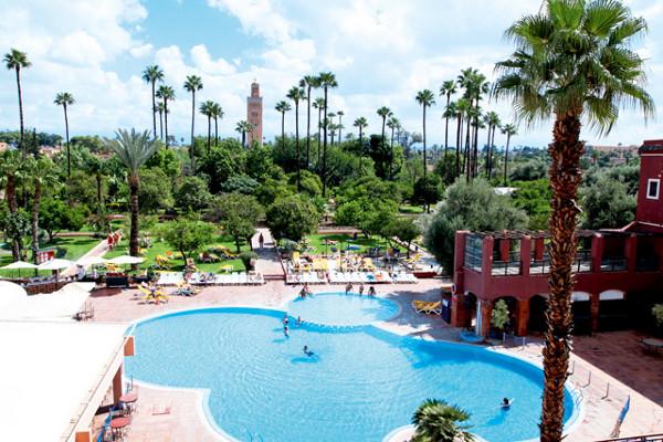 H tel tui sensimar medina gardens marrakech maroc go voyages for Hotel marrakech pas cher avec piscine