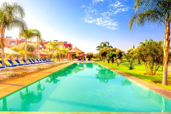 H tel le vizir center parc resort marrakech maroc go for Piscine center montpellier