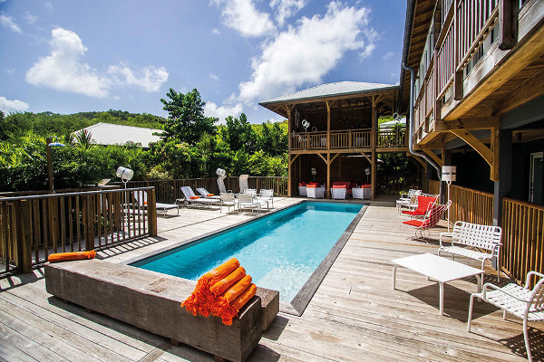 Piscine - French Coco Luxury Boutique aux Antilles