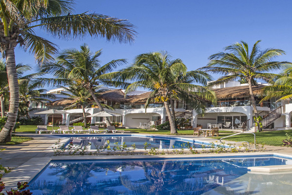 Piscine - Las Villas Akumal au Mexique