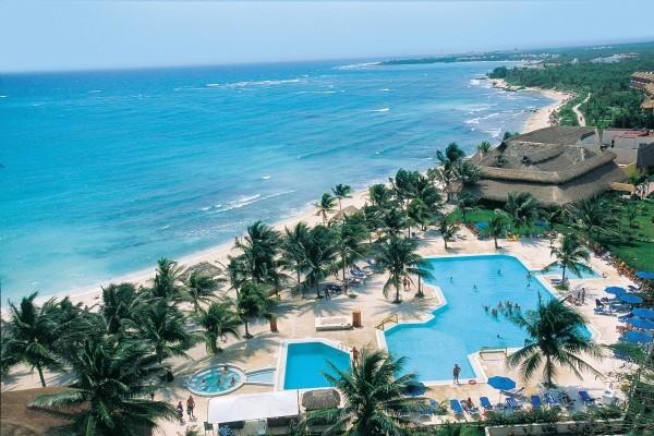 Vue panoramique - Hôtel Akumal Bay Beach & Wellness Resort 5*