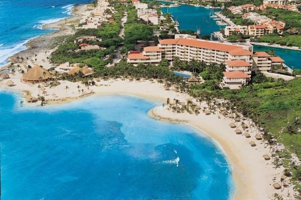Vue panoramique - Hôtel Dreams Puerto Aventuras 5*