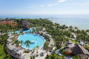 Mexique-Cancun, Hôtel Fram Expériences Barcelo Maya Caribe
