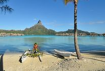 Canoë - Intercontinental Bora Bora Resort & Thalasso Spa en Polynésie