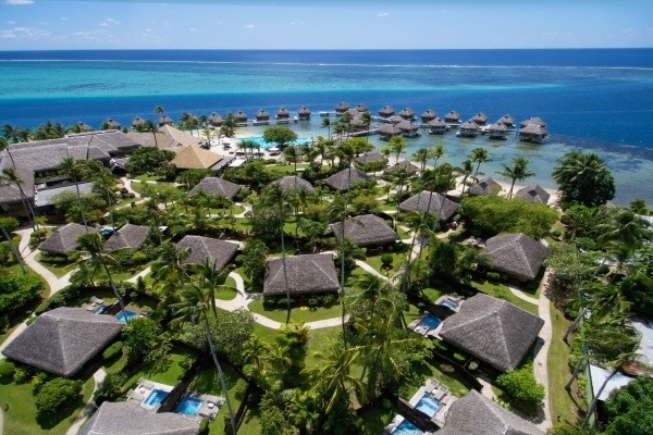 Hôtel  Manava Beach Resort & Spa-moorea 4*