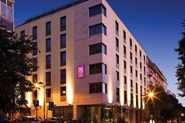 Facade - Neya Lisboa Hotel 4*