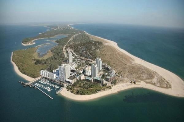 Vue panoramique - Hôtel Blue & Green Troia Design Hotel & Casino 5*