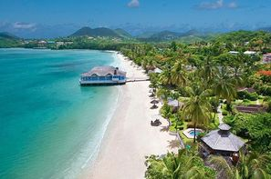 Sainte Lucie-Sainte-Lucie, Hôtel Sandals Halcyon Beach St Lucia