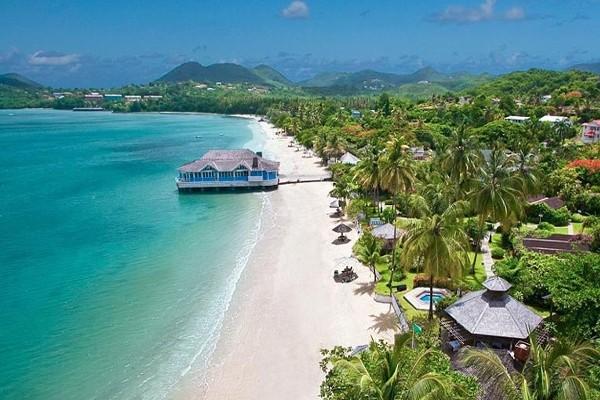 H 244 Tel Sandals Halcyon Beach St Lucia Sainte Lucie Sainte