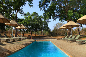 Vacances Siné-Saloum: Lodge Fathala Wildlife Reserve & Lodge
