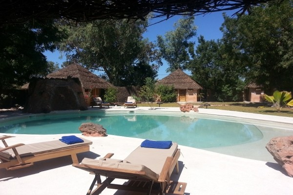 Piscine - Hôtel Lodge Relais du Saloum 3*