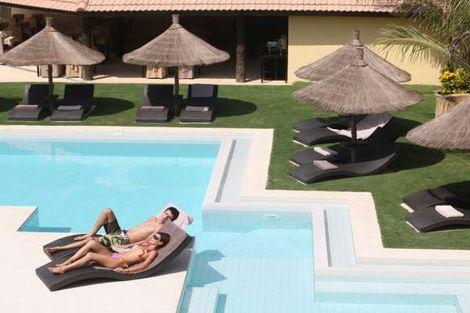 Petite piscine extérieure - The Rhino Resort & Spa Senegal - Dakar