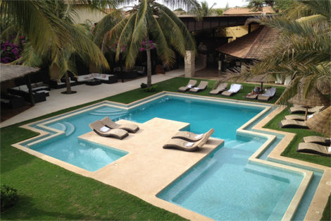 Piscine - The Rhino Resort & Spa Senegal - Dakar
