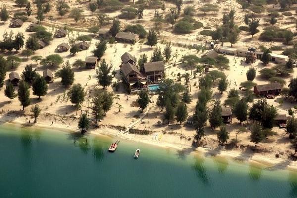 Vue panoramique - Hôtel Lodge et Océan Savane 4*