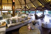 Salon - Denis Private Island aux Seychelles
