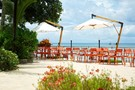 Terrasse - Coral Strand Hotel aux Seychelles