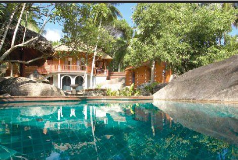 Seychelles  - Htel Labriz Silhouette 5*