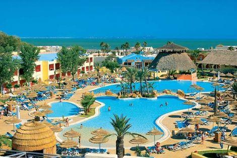 Hôtel Caribbean World Borj Cedria 4* - BORJ CEDRIA - TUNISIE