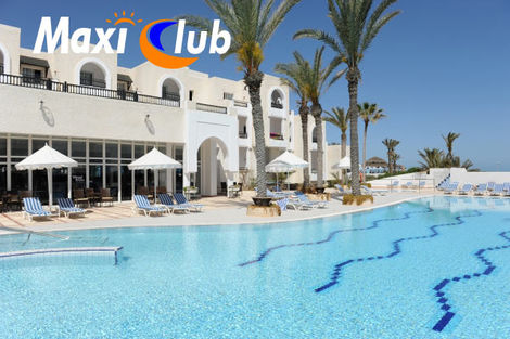 Hôtel Maxi Club Jazira Beach & Spa 3* - DJERBA - TUNISIE