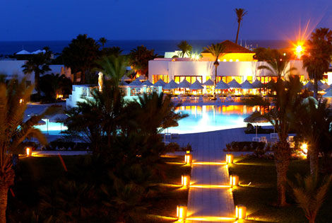 H tel yadis djerba golf thalasso spa 5 djerba tunisie for Salon 5 etoiles tunisie