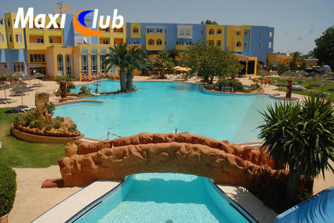 H&ocirc;tel Maxi Club Sun Garden Hammamet 3* - HAMMAMET - TUNISIE