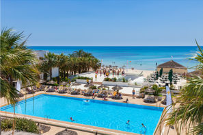 Tunisie-Monastir, Hôtel Magic Hotels Hammamet Beach