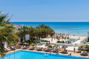 Tunisie-Monastir, Hôtel Maxi Club Hammamet Beach
