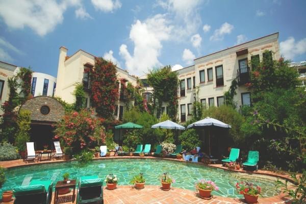 Piscine - Hôtel Hôtel & Suites El Vino 4*