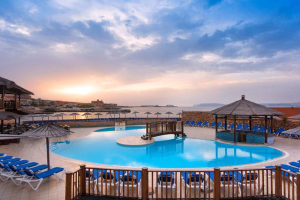 Hôtel Ramla Bay 4*, Malte