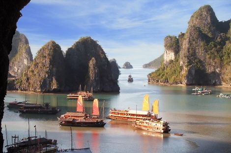 Baie d'Ha Long au Vietnam