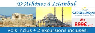Croisières D'Athènes à Istanbul