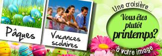 Croisières Méditerranée au printemps