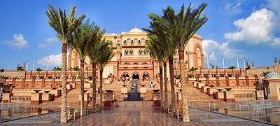 Hôtels à Abu Dhabi Des palais dignes des 1001 nuits