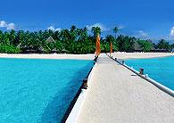 Maldives Chapelet d'îles hôtels