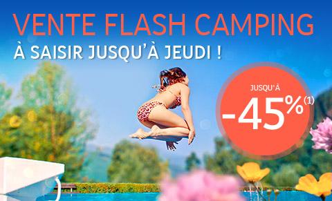 Vente Flash Camping
