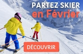 skiez en février