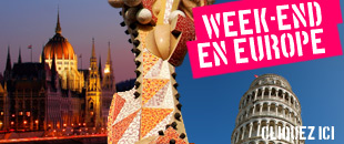 Week-end en Europe