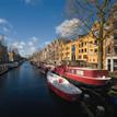 AMSTERDAM : UNE BALADE EN BATEAU SUR LES CANAUX