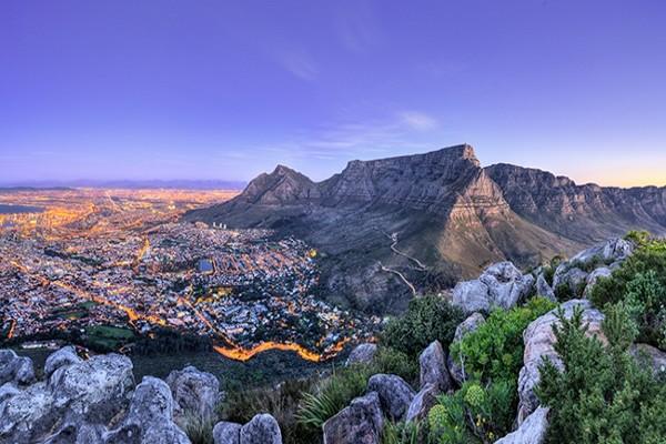 Ville - Autotour Charmes d'Afrique du Sud Le Cap Afrique Du Sud