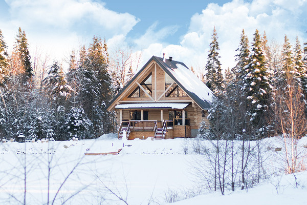 Chalet - Montréal - Outaouais - Ottawa : Auberge en Bois Rond