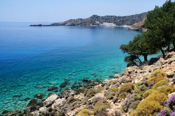 Côte sud de la Crète