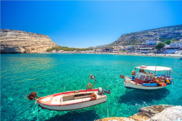 Plage - Autotour Grands sites de l'ouest Crétois 3* Heraklion Crète