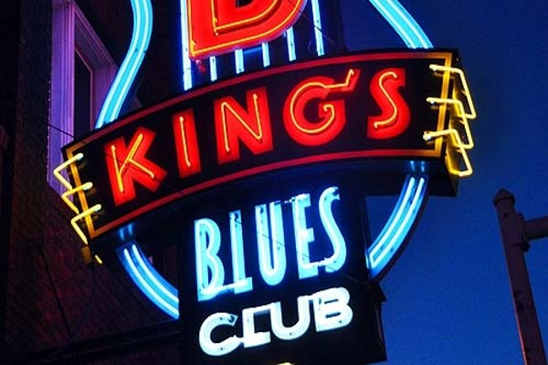 Panneau King's Blues