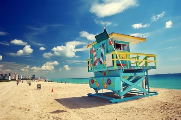 Plage - Autotour FRAM - La Floride en liberté Miami Etats-Unis