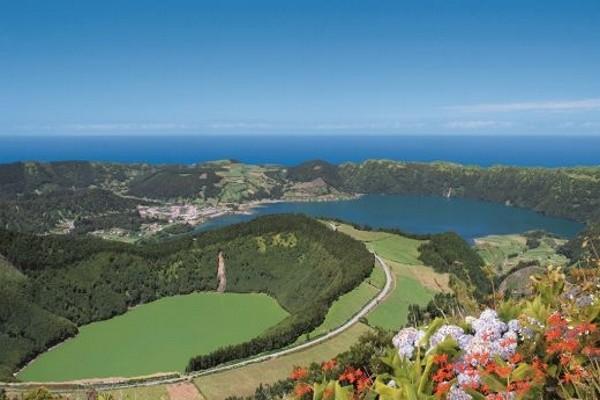 Vue panoramique - Combiné hôtels 3 îles « Féérie des Açores » 4* Ponta Delgada Iles Des Acores